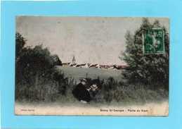 77 BUSSY St GEORGES Partie Du Haut  CPA 1912   Petite Animation  état Moyen - Frankrijk