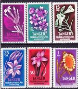 2016-0927 Tanger Beneficienca Edifil 47-52 MNH ** - Spanisch-Marokko
