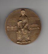 Medaille Bronze_ Le Brun Albert - Presid.de La Republique  Du 10 Mai 1932 à1940 - France