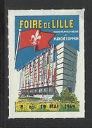 FOIRE DE LILLE 1969 - FOIRE FRANCO-BELGE DU MARCHE COMMUN - Erinnophilie