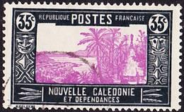 2016-0937 Nouvelle Calédonie 1933 Yvert 147A Oblitéré O - Gebraucht