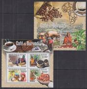D18 Burundi - MNH - Drinks - Coffee - 2012
