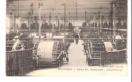 Bourgoin (Jallieu-Isère)-Usine Ch.Diéderichs-Atelier D'Ourdissage-Filature-Industrie Textile-Exp. Vers Lokeren-Belgique - Bourgoin