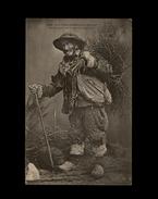 29 - HUELGOAT - Un Bucheron De La Foret - Nos Vieux Professionnel Bretons - Huelgoat