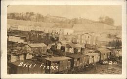 29 - BREST - Wagons - Train - CARTE PHOTO ANGLAISE - Brest