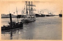 Terneuzen Kanaal     Voorhaven Zeilschip Zeilboot        A 4091 - Dampfer