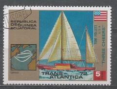 Equatorial Guinea 1973. Scott #7304 (U) Tom Follett (USA) And ''Three Cheers'' - Guinée Equatoriale