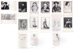 Lot De 15 Cartes De Peinture Tableaux Par Peintre Allemand : Hans Holbein - See SCANS - Pittura & Quadri