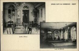 29 - BREST - Grand Café Du Commerce  - Salle De Billards - Brest