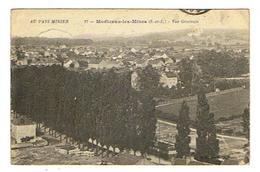 CPA 71 MONTCEAU LES MINES Vue Generale - Montceau Les Mines
