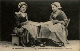 29 - CONCARNEAU - Dentellières Bretonnes - Concarneau