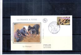 FDC Soie France - Sport - La Pétanque - Pétanque