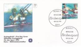 Germany FDC 1995 Canoe World Championship   (T3-13)