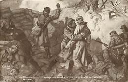Guerre 1914-18- Ref L170- Illustrateur-l Jonas - La Conquete Du Massif De Lorette  - Carte Bon Etat   - - Guerre 1914-18