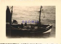 Bateau Voilier Pêche  10x7cm  Photo Ancienne - Photographs
