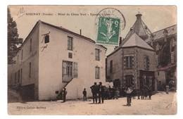 Cpa AISENAY (Aisenay),,hotel Du Chêne Vert épicerie Gallais - Aizenay