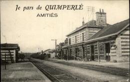 29 - QUIMPERLE - Je Pars De Quimperlé - Gare - Train - Quimperlé