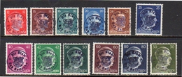 Bad GOTTLEUBA 12 MNH Stamps Mi 8-19  (od16) - Soviet Zone