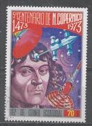 Equatorial Guinea 1974, Scott #7407 Copernicus Demonstrate His Theory (U) - Guinée Equatoriale