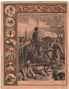 Couverture De  Cahier 19° Siècle - Voyage Sur Terre Et Mer - Illustration Anniversaire De Mahomet N° 33 - Animaux