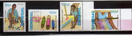 2012 AFRIQUE SENEGAL Tisserands Et Tissage NEUFS ** MNH  Y&T 1837 1838 1839 1840 - Sénégal (1960-...)
