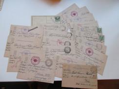 Österreich 1914/15 Felpost Korrespondenz Major Hubel Von Olengo. Mährisch Ostrau / Krakau. Baronesse / K.u.K. Offizier - 1850-1918 Imperium
