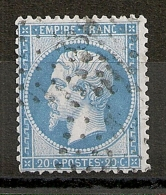 PC 338 BEDARIEUX Hérault Sur Napoléon Dentelé N°22. - 1862 Napoleon III