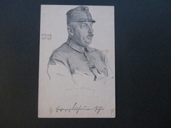 Österreich 1918 Postkarte K. F. Gsur. K.K. Reitenden Tiroler Kaiserschützen 2. Schützeneskadron - 1850-1918 Imperium
