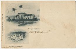 Barbados Beachmount Hotel Bathsheba And Native Huts ( Texte Maison Des Nègres ) Rich And Poor Racism 1902 - Barbades