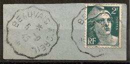 Convoyeur BEAUVAIS A CREIL Sur 2F GANDON - 1921-1960: Periodo Moderno