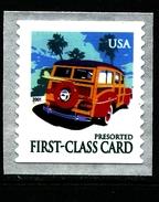 UNITED STATES/USA - 2001  CAR  MINT NH - Stati Uniti