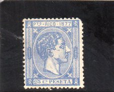 PUERTO RICO 1877 * - Puerto Rico