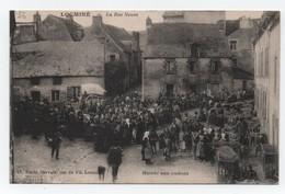LOCMINE (Morbihan.56) - La Rue Neuve - Marché Aux Cochons -Très Bon Etat. - Locmine