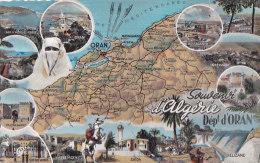 Bf - Cpsm Petit Format Algérie - Souvenir D'Algérie - Département D'Oran - Oran