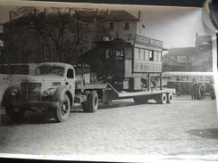 PHOTO J.TESSIER NANTES 14 FEVRIER 1955 DERNIER TRAMWAY - Photos