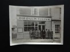 NANTES PHOTO ETABLISSEMENT DROUIN FRERES AU N°57 VERS 1930 - Photos