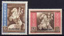 Deutsches Reich, 1942, Mi 824-825 ** [201216StkKV] - Deutschland