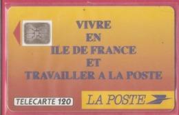 F 137 A - LA POSTE  Ile De France--120U  SC4 A N --Numéro De Lot 20194 Pe - France