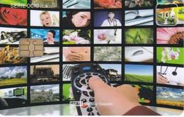 ISN-225 TARJETA DE ESPAÑA DE ISERN  DE LA SERIE OCIO Nº4 (TELEVISION-TV) - Télécartes