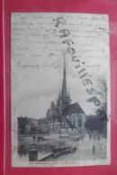 Cp Les Riceys Eglise Des Riceys Bas Animé - Les Riceys