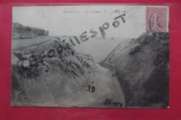 Cp Mesnival Les Gorges Animé - Arcis Sur Aube