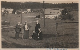 AK Dorf Schneeberg Sneznik Gasthof ? Böhmische Schweiz Bei Eiland Ostrov Tissa Tisa Tetschen Decin Eulau Jilove Bielatal - Sudeten