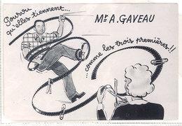 Photo Mr A. Gaveau ( Photographe ? Péllicule, Montage, Photomontage ) - Métiers