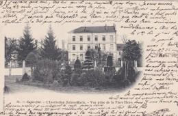 20U - 88 - Saint-Dié - Vosges - L'Institution Sainte-Marie - Vue Prise De La Place Haxo - N° 51 - Saint Die