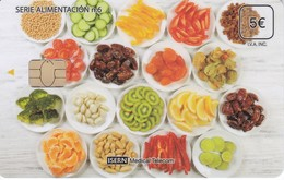ISN-234 TARJETA DE ESPAÑA DE ISERN  DE LA SERIE ALIMENTACION Nº6 (PLATOS COMIDA) - Alimentación