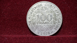 West African States 100 Francs 1978 Km#4. (inv1040) - Monnaies
