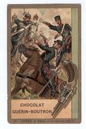 Chromos CHOCOLAT GUERIN BOUTRON  ARMES A FEU  66 Le Revolver (XIXe S.) - Guerin Boutron