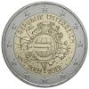 """** 2 EURO COMMEMO. """" 10 Ans De L Euro """"  AUTRICHE 2012 PIECE NEUVE ** - Autriche"""