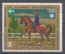 Equatorial Guinea 1972, Scott #72148 Henri St-Cyr (Swi) And ''Master Rufus'', Gold Medal Helsinki 1952 (U) - Guinée Equatoriale