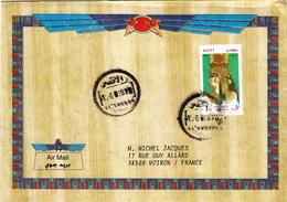 LETTRE COVER EGYPTE LUXOR - Egypt